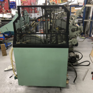 "AU180401 - Used Kluge 10x15"" Foil Stamping, Embossing and Die Cutting Platen Press"