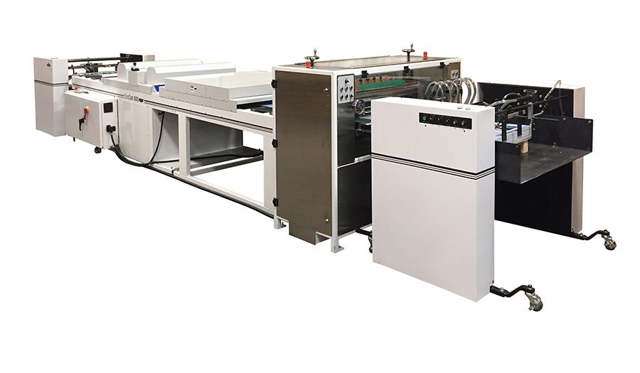 Kluge OmniCoat 3000 UV Coater System