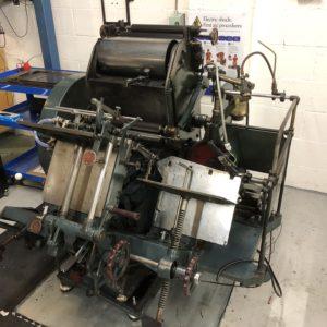 Letterpress Printing Presses