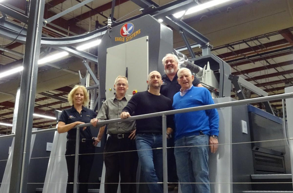 McLean Packaging Corporation Installs 3rd Eco-Eagle February 2020