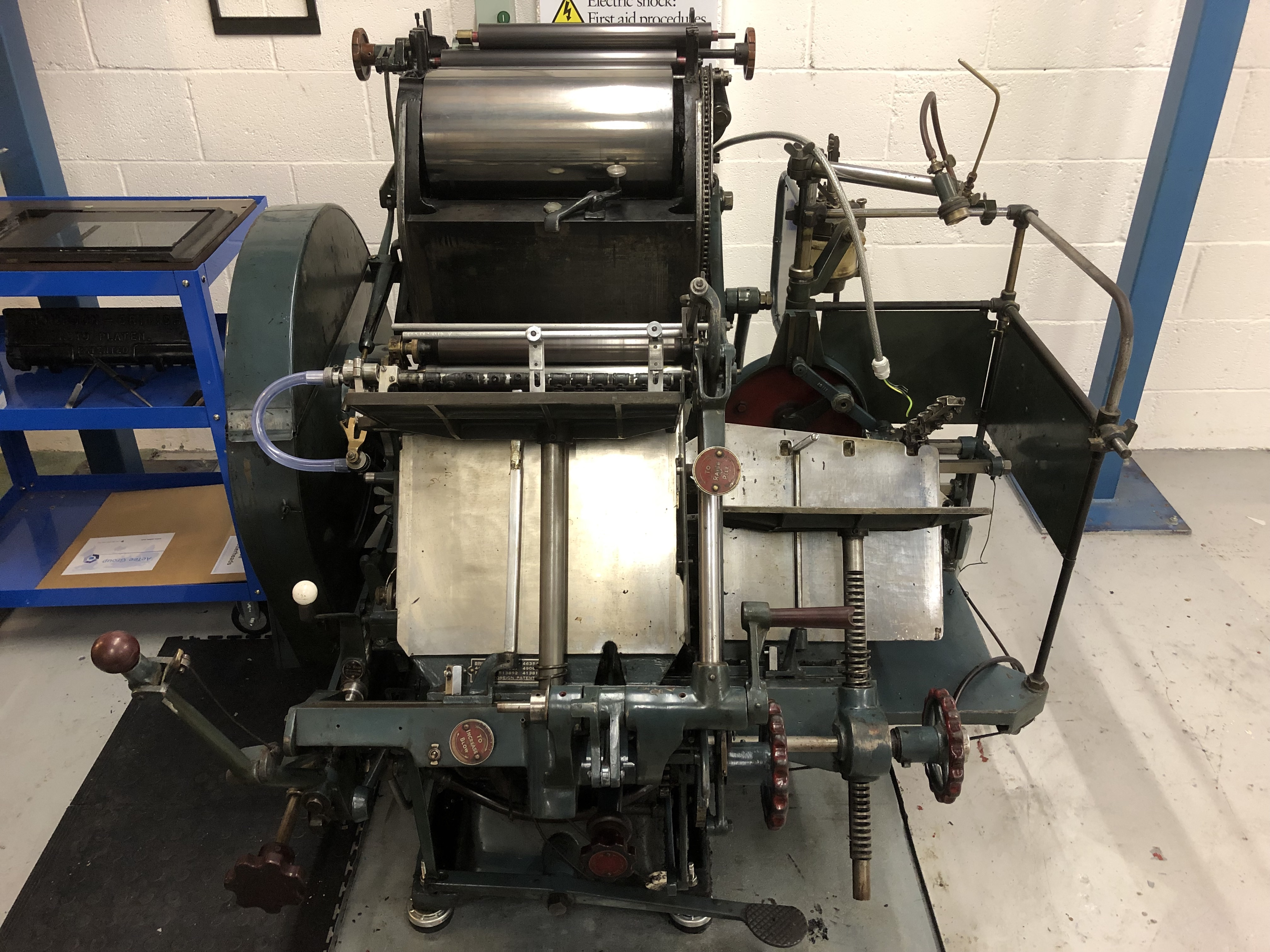 AU180703 - Thompson Letterpress Printing Press