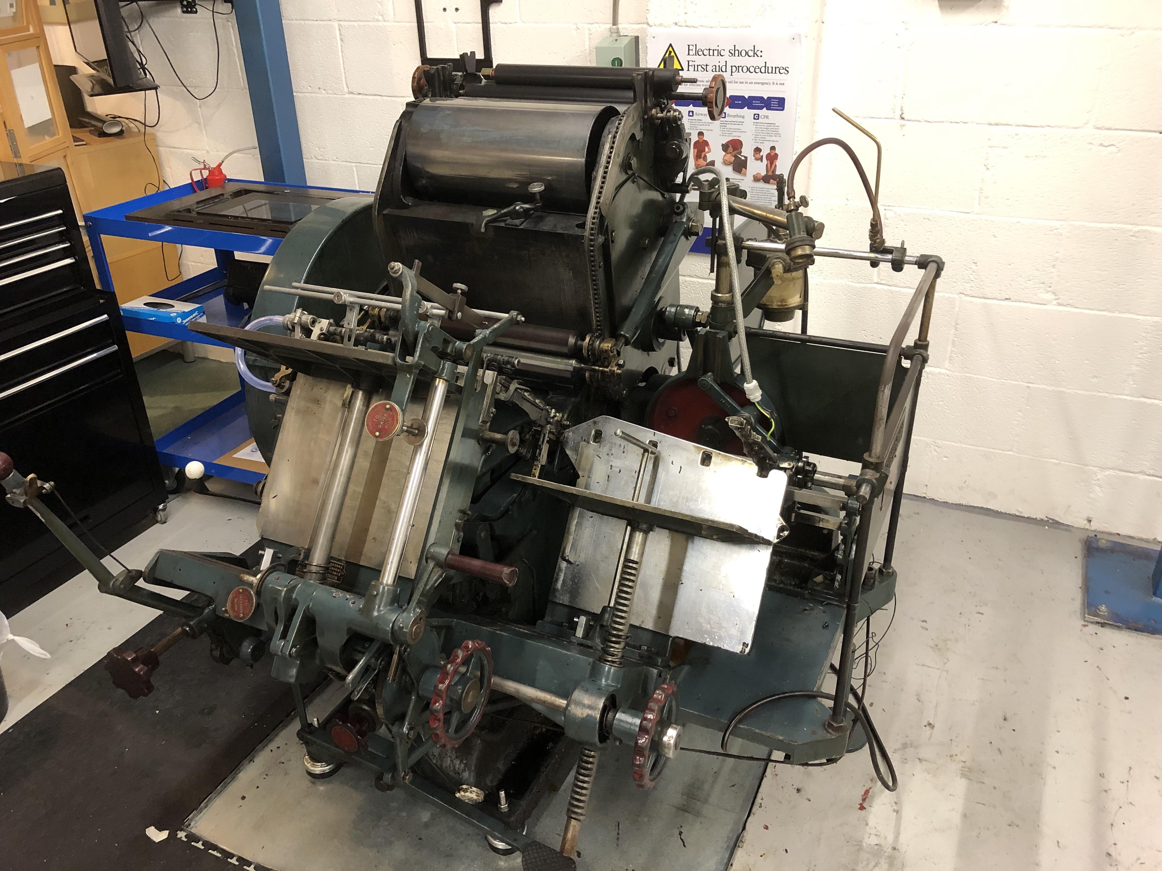 AU180703 - Thompson Letterpress Printing Press